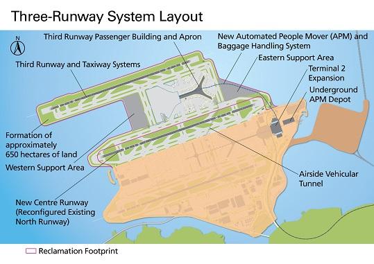 third runway hong kong airport international