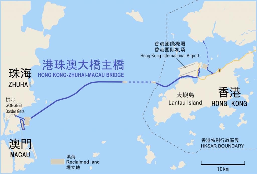 Hong Kong Macau bridge
