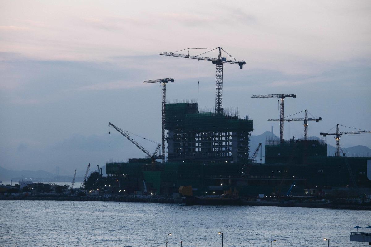 m+ museum under construction