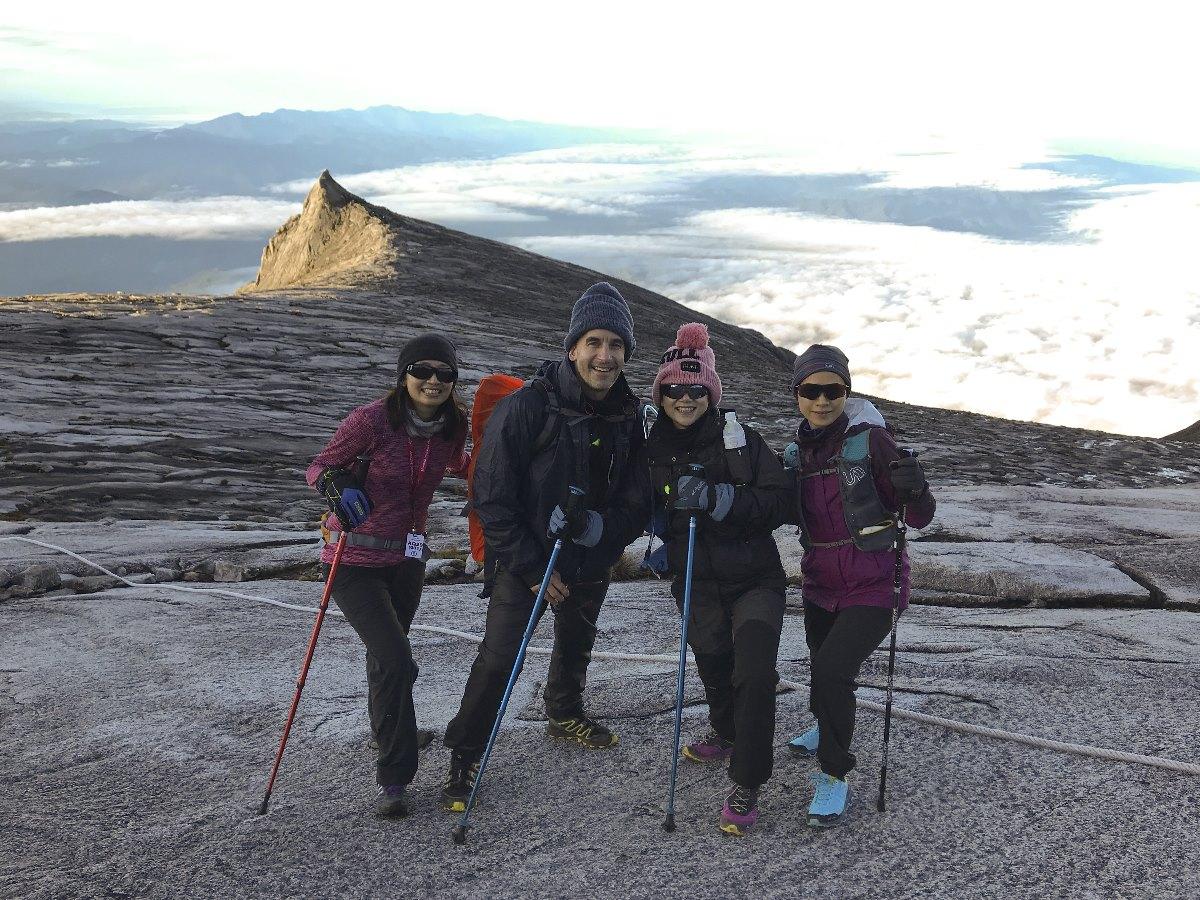 CDC team Mount Kinabalu