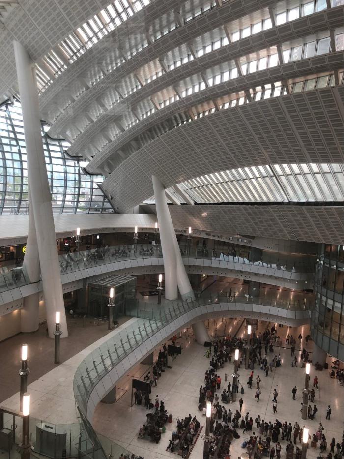 West Kowloon Station (copyright David Feehan)
