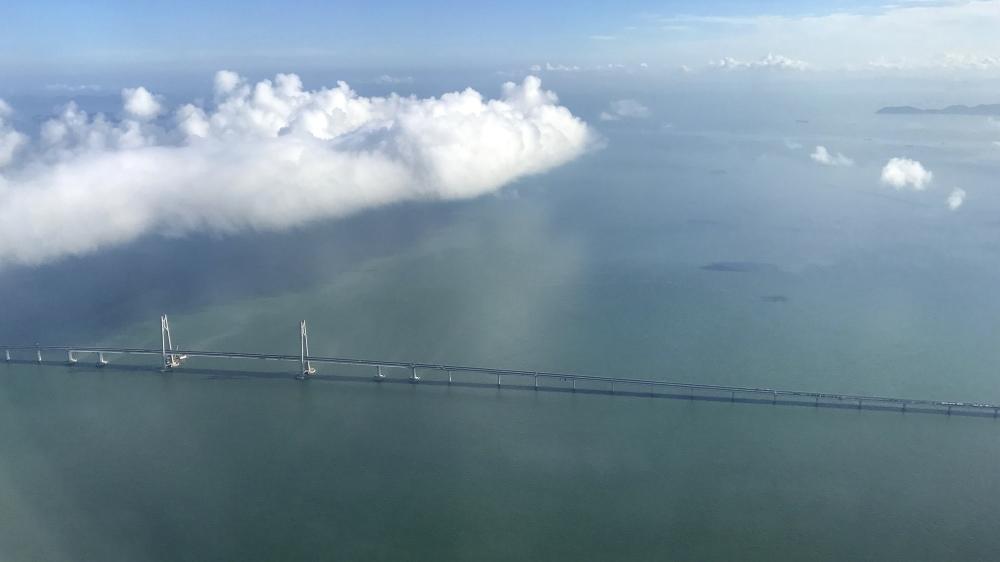 Qingzhou Channel Bridge, 460m span cable-stayed bridge, Pearl River Estuary