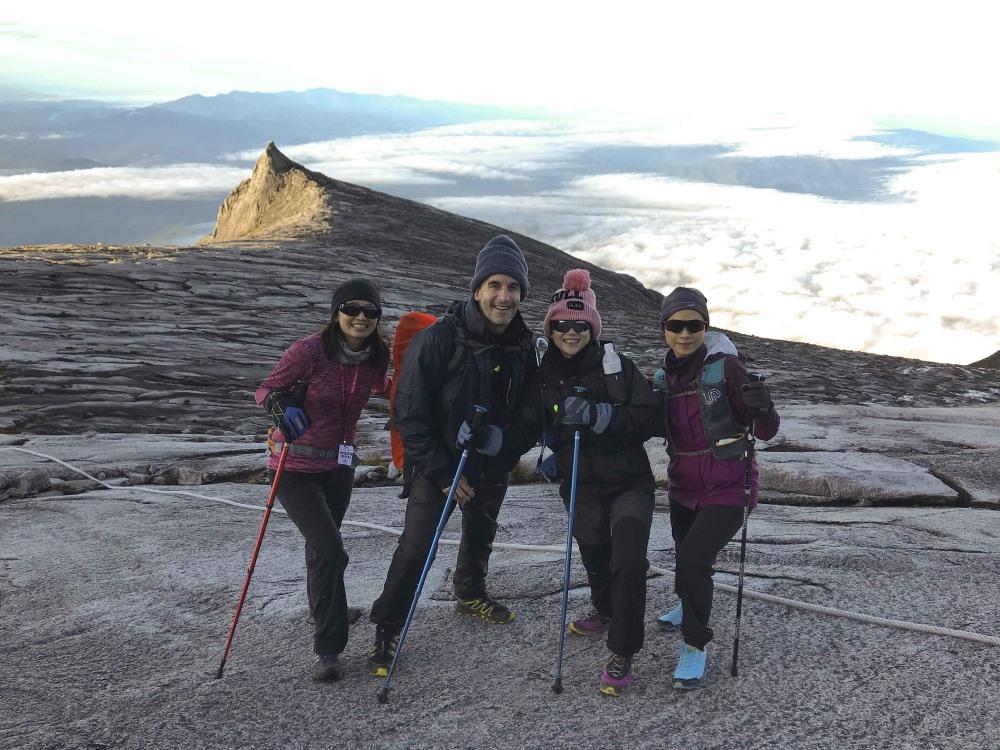 CDC team scale Mount Kinabalu in Malaysia