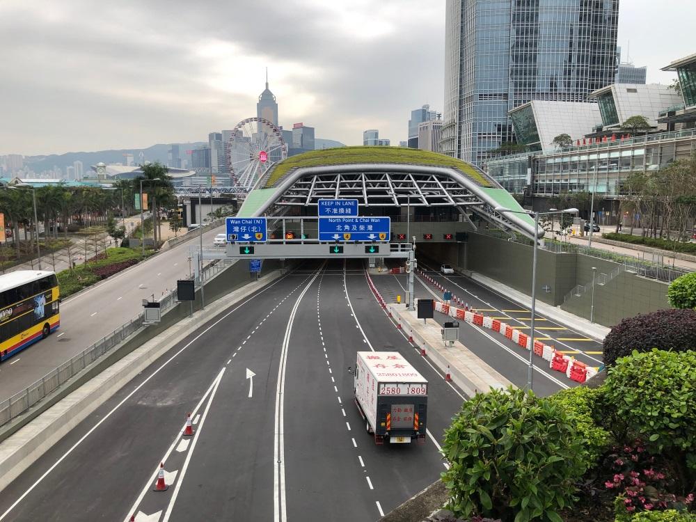 Central Wan Chai Bypass, Hong Kong