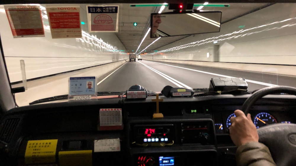 Central Wan Chai Bypass tunnel