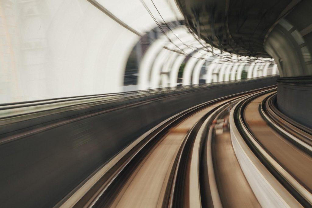 MTR tunnel, Hong Kong