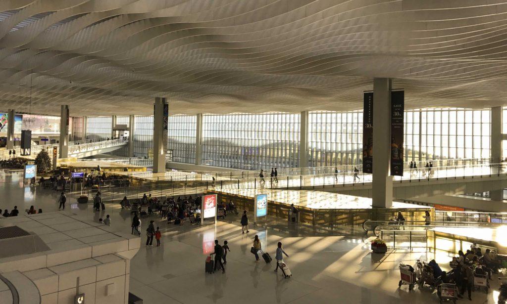 hong kong airport terminal building