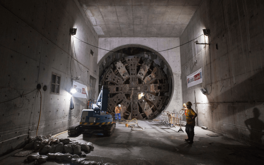 MTR Express Rail Ngau Tam Mei to Tai Kong Po Tunnels