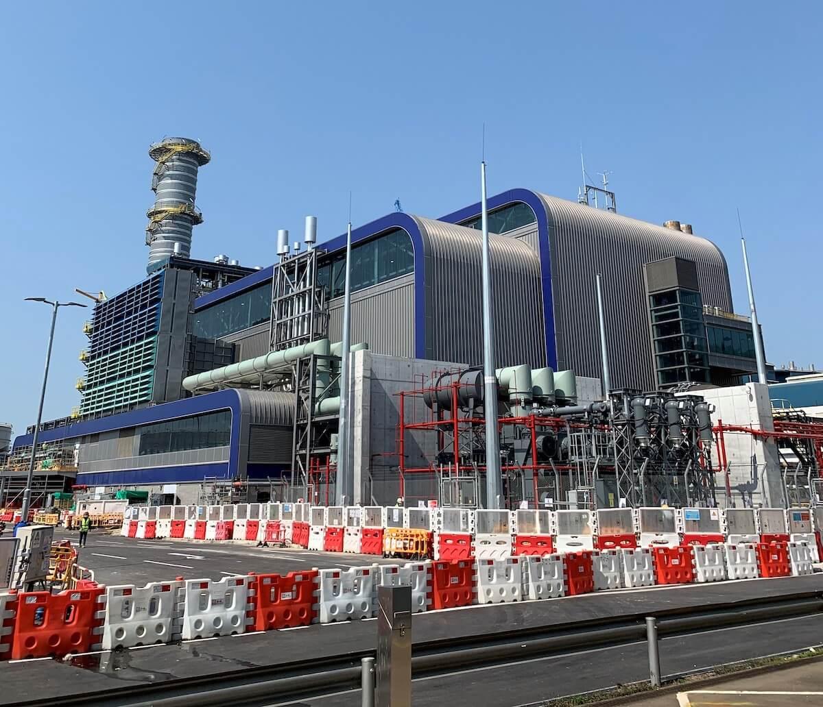 Black Point Power Station turbine hall