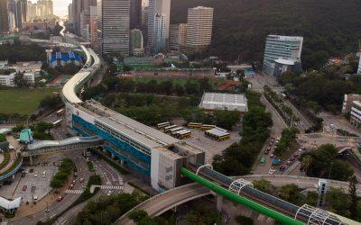 MTR South Island Line Ocean Park and Wong Chuk Hang Stations
