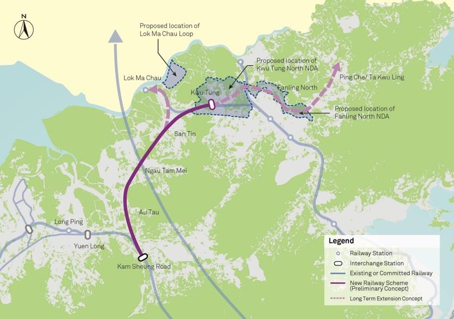 Northern Link new line