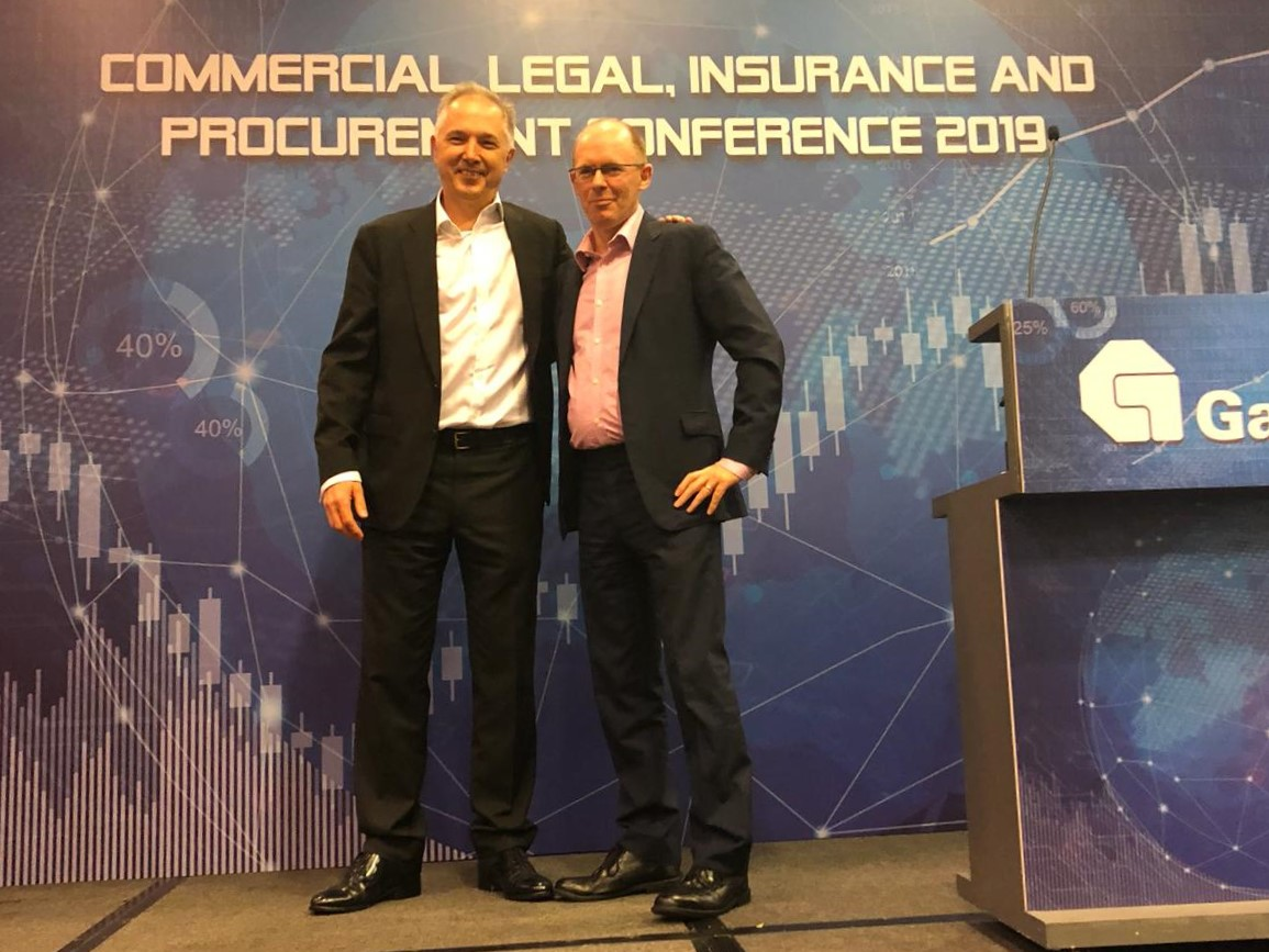 David Feehan at Gammon Commercial Legal Insurance and Procurement Conference at Asia Expo