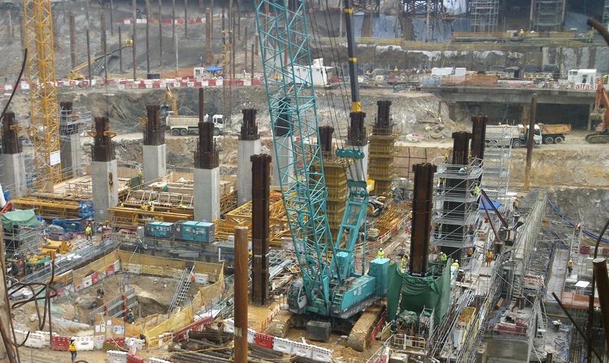 kowloon terminus construction