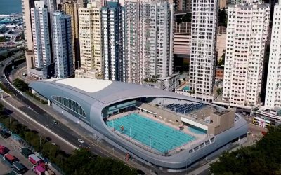 MTR West Island Line Kennedy Town Swimming Pool