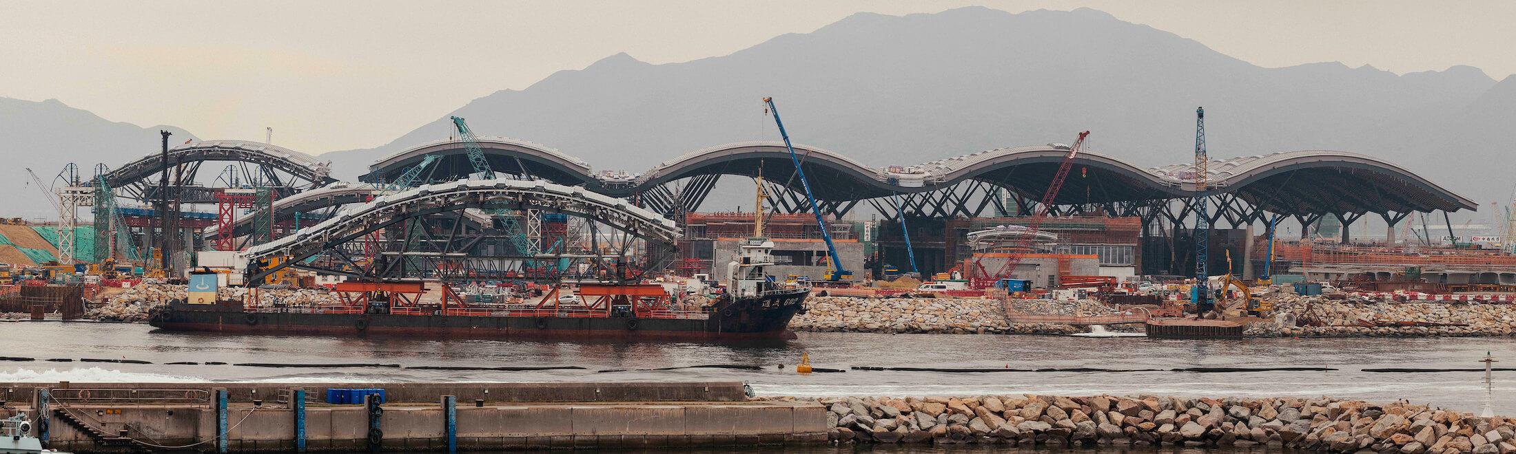 Passenger Crossing Boundary Facility, Hong Kong Macau Zhuhai Bridge